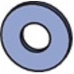 Atkore - HFLW025EG - Unistrut HFLW025EG Flat Washer, Steel, Electro-Galvanized, 1/4