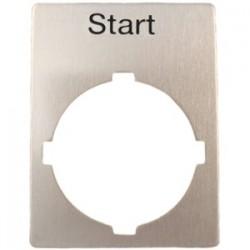 ABB - SK 615 550-44 - ABB SK 615 550-44 22mm Legend Plate, Start, Modular