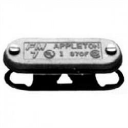 Appleton Electric - APP370FIGSA - Appleton APP370FIGSA Conduit Body Cover with Neoprene Gasket, Size: 1, Aluminum