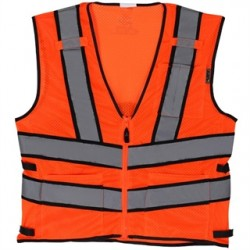 Lift Safety - AV2-10E1L - Lift Safety AV2-10E1L Safety Vest, Viz-Pro 2 - Size: X-Large, Orange