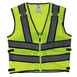 Lift Safety - AV2-10L1L - Lift Safety AV2-10L1L Safety Vest, Viz-Pro 2 - Size: X-Large, Yellow