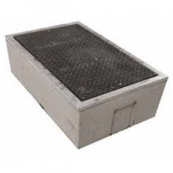 Oldcastle Precast - 1000275 - Oldcastle Precast 1000275 Underground Box, 10 x 17 x 12, Open Base, Reinforced Concrete