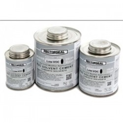 Rectorseal - 55919 - Rectorseal 55919 PVC Cement, Clear, 1 Pint