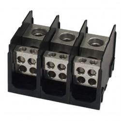 Marathon Special Products / Regal Beloit - 1333575 - Marathon Special Products 1333575 Power Distribution Block, 3-Pole, 420A, 600V, (1) Line/(4) Load per Pole
