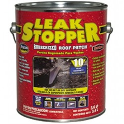 BizLine - 0318-GA - Bizline 0318-GA Leak Stopper Rubberized Roof Patch, 1 Quart