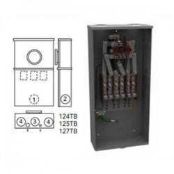 Milbank - 127TB - Milbank 127TB Ring Type Meter Socket, 200A, 7 Terminal