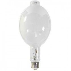 Candela - H36GW-1000/DX - Candela H36GW-1000/DX 1000 Watt Bulb Coated Mercury Vapor BT56