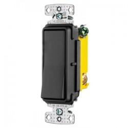Hubbell - RSD115BK - Hubbell-Wiring Kellems RSD115BK RESI ROCKER SW, SP,