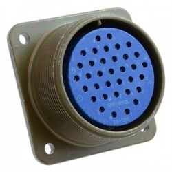 Amphenol - 97-28-15S - Amphenol 97-28-15S Circular Connector, 35P, Size 28, Socket Cable Receptacle Solder