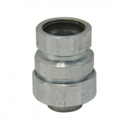 American Fittings - STREMT100 - American Fittings Corp STREMT100 1 inch L/T EMT Combination Coupling, Steel, Zinc Plated.