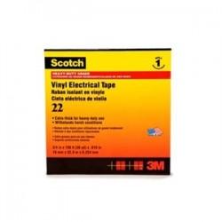 3M - 22-1/2X36YD - 3M 22-1/2x36YD Vinyl Electrical Tape, 1-1/2 X 36 Yards