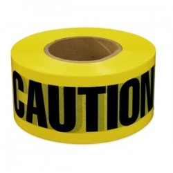 L.H. Dottie - BT5 - Dottie BT5 Barricade Tape, Caution, 3 x 1000', Yellow