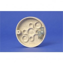 Allied Moulded - 9304-G - Allied Moulded 9304-G Fan/Fixture Pan, 3-3/8 Diameter, Depth: 5/8, Non-Metallic