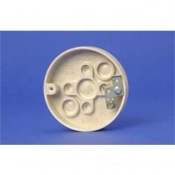 Allied Moulded - 9304-G - Allied Moulded 9304-G Fan/Fixture Pan, 3-3/8 Diameter, Depth: 5/8, Non-Metallic