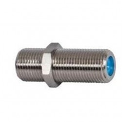 Klein Tools - VDV814-609 - Klein VDV814-609 3-GHz Durable Steel Male to Female F-Splice Twist-On Adapter