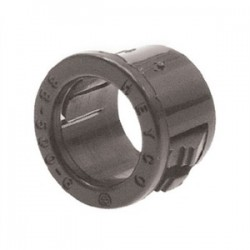Heyco - 2210 - Heyco 2210 Snap Bushing, 1-3/8, Insulated, Material: Nylon, Color: Black.