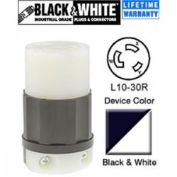 Leviton - 2663 - Leviton 2663 30 Amp, 125/250 Volt, NEMA L10-30R Connector