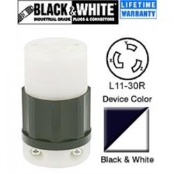 Leviton - 2673 - Leviton 2673 30 Amp, 250 Volt, NEMA L11-30R Connector