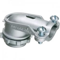 Arlington Industries - 851 - Arlington 851 AC/Flex Connector, 1/2, 90, 2-Screw Clamp, Zinc Die Cast
