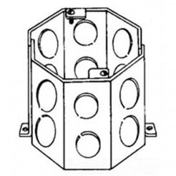Eaton Electrical - TP636 - Cooper Crouse-Hinds TP636 4 Octagon Concrete Box, 3-1/2 Deep, 1/2 - 3/4 KOs, Steel