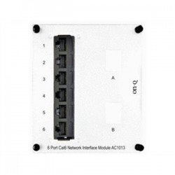 On-Q / LeGrand - AC1013 - ON-Q AC1013 Interface Module, 6 Receptacles