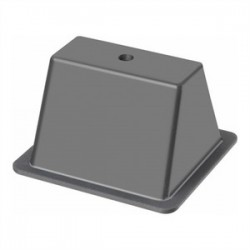 Arlington Industries - RTSB409 - Arlington RTSB409 Rooftop Support Base, Open, Width: 9, Length: 4, Non-Metallic