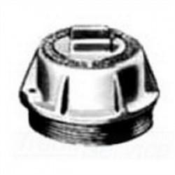 Appleton Electric - GRK-1DC - Appleton GRK-1DC Conduit Outlet Box Cover, Type: Dome, 2 Depth, Aluminum