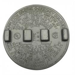Appleton Electric - GRK-1 - Appleton GRK-1 Conduit Outlet Box Cover, Diameter: 3.38, Aluminum