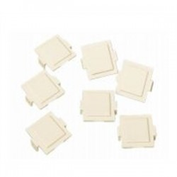 CommScope - 107067860 - Systimax M20 Dust Cover - Supports Faceplate - Thermoplastic - Ivory - 100