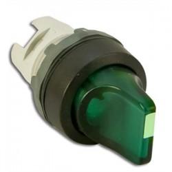 ABB - M3SS1-11G - ABB M3SS1-11G 22mm Selector Switch, Knob Type, Green, Modular