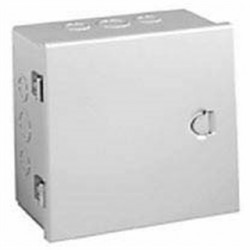 Hubbell - A080806 - Hubbell-Wiegmann A080806 Enclosure, Nema 1, Hinge Cover, Steel, 8 x 8 x 6, KO