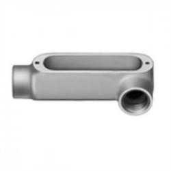 Bridgeport Fittings - LL-47 - Bridgeport Fittings LL-47 Conduit Body, Type: LL, Size: 2-1/2, Type: Set Screw, Aluminum
