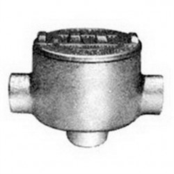 Appleton Electric - GRCA75A - Appleton GRCA75A Conduit Outlet Box, Type GRC, (3) 3/4 Hubs, Aluminum