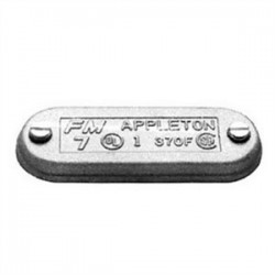 Appleton Electric - 270FSA - Appleton 270FSA Conduit Body Cover, Form 7, 3/4, Aluminum