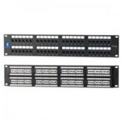 BizLine - PPC6RM48P - Bizline PPC6RM48P Patch Panel, Cat 6, 48 Port, 2 Unit Height, 19 Width