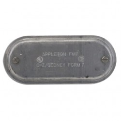 Appleton Electric - 270SA - Appleton 270SA Conduit Body Cover, 3/4, Form 7, Aluminum