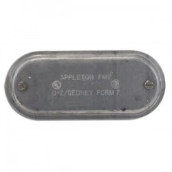 Appleton Electric - 170SA - Appleton 170SA Conduit Body Cover, Form 7, Size: 1/2, Material: Aluminum