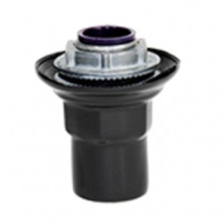Calbrite - PV1500ST5 - Calbrite PV1500ST5 Conduit Hub, Size: 1-1/2, Material: PVC Coated Iron