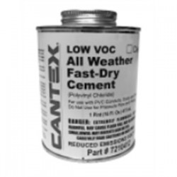 Cantex - 7210412 - Cantex 7210412 Conduit All Weather PVC Cement, 1Pint