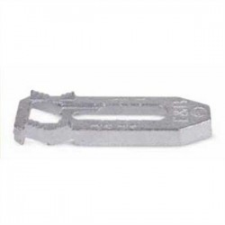 Thomas & Betts - 1350AL - Thomas & Betts 1350AL Clamp Back, 1/2 - 1, Aluminum, For Use with Malleable or Aluminum Straps