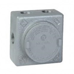 Hubbell - GRSS-2L - Hubbell-Killark GRSS-2L Conduit Outlet Box With Mounting Lugs, Type GRSS, Explosionproof