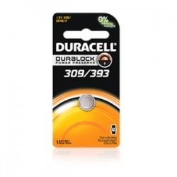 Duracell - D309/393PK08 - Duracell D309/393PK08 Battery, 1.5V, 309/393, Zinc/Monvalent Silver Oxide, Button Cell