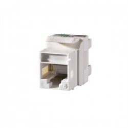 Ortronics - OR-KS6A-99 - Ortronics OR-KS6A-99 Snap-In Connector QuickPort CAT 6 Ivory