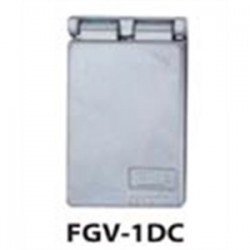Teddico - FGV-1DCV - BWF FGV-1DCV Weatherproof-In-Use Cover, 1-Gang, Type: GFCI