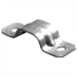 Bridgeport Fittings - 1882-SE - Bridgeport Fittings 1882-SE Tw-Hole Strap, Service Entrance, Steel, (3) 3 AWG & 2 AWG