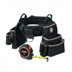 Klein Tools - 55429-ST - Klein 55429-ST Tape Measure and Tool Belt - XL