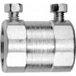American Fittings - SNT1760 - American Fittings Corp SNT1760 Rigid Set Screw Coupling, 1/2, Steel, Concrete Tight