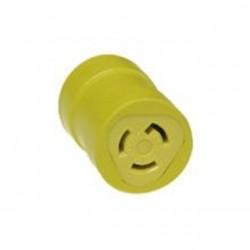 Molex - 1712 - Woodhead 1712 Safeway Adapter NEMA L5-15 Receptacle/Female, NEMA 5-15 Plug - Male, 15A/125V