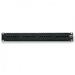 CommScope - 13750142 - Commscope 13750142 Patch Panel, Cat 6, 24 Port, 1 Unit Height, 19 Width