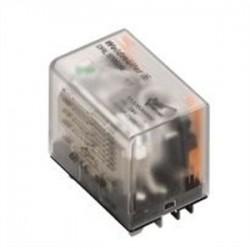 Weidmuller - 0133660000 - Weidmuller 0133660000 Relay, Ice Cube, 10A, 4PDT, 14-Blade, 220VDC Coil, Test Button